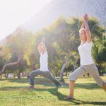 Seniors Yoga at Colorado park - Medicare Part A