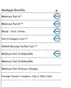 Medicare Supplement Benefits Plan B