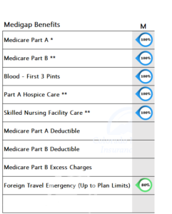 Medicare Supplement Benefits Plan M