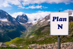 Billboard with Plan N Medigap - Colorado Mountains Background