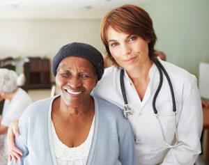 Medicare Advantage Beneficiary with Nurse in Colorado Hospital