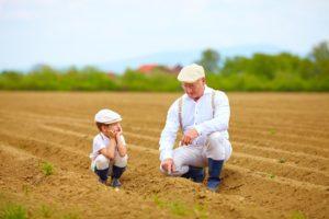 Grandpa and Grandson at Colorado farm - What is Medicare Advantage - Colorado